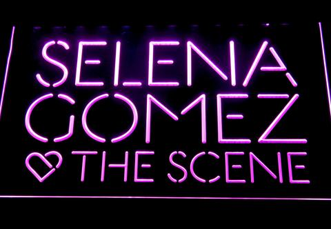 Selena Gomez and The Scene LED Neon Sign