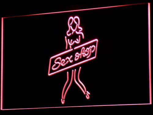 Sex Shop Sexy Girl Toys Bar Neon Light Sign