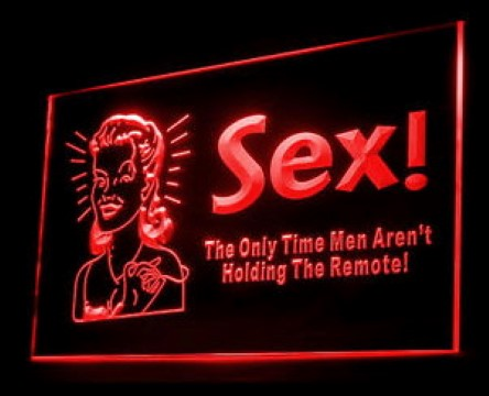 Sex The Only Time LED Neon Sign