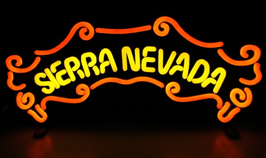 Sierra Nevada Banner Neon Sign