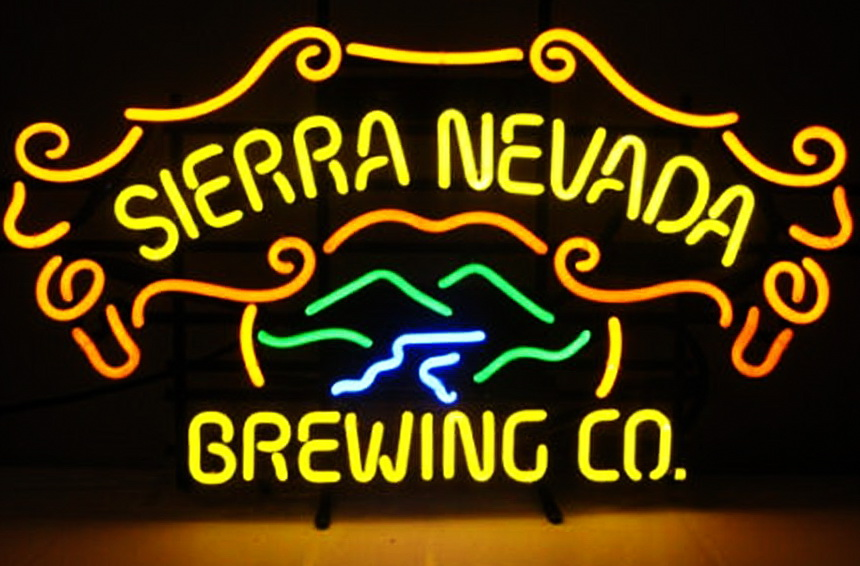 Sierra Nevada Brewing Co Neon Sign