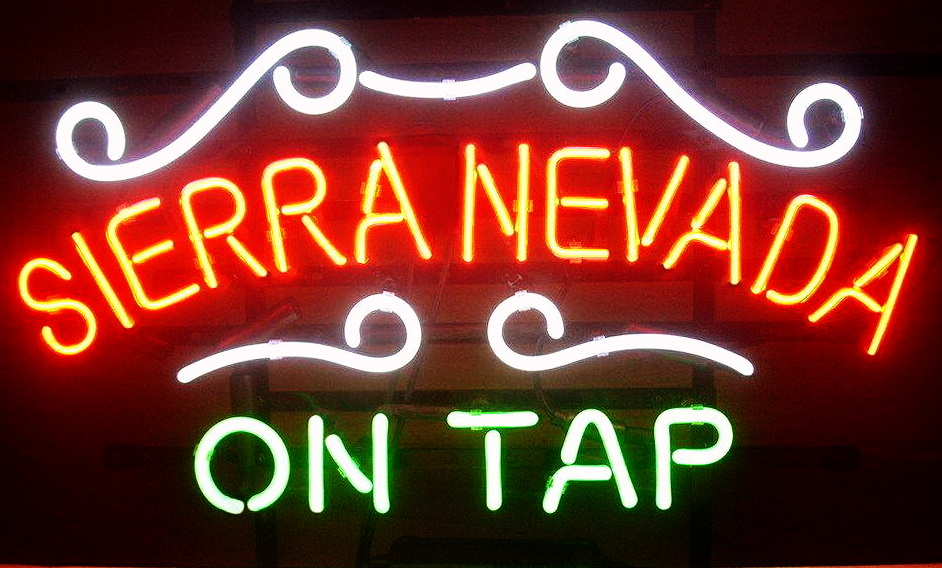 Sierra Nevada On Tap Neon Sign