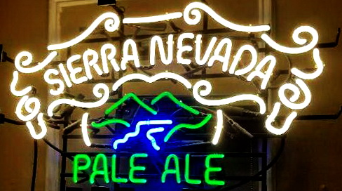 Sierra Nevada Pale Ale White Neon Sign