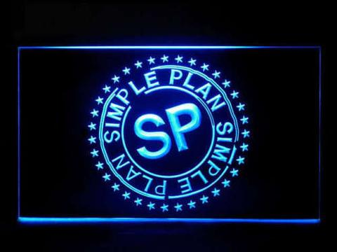 Simple Plan LED Neon Sign