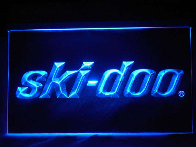 Ski-Doo Snowmobiles LED Sign