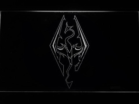 Skyrim Logo LED Neon Sign