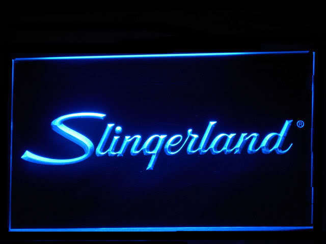 Slingerland Percussion Drums Display Led Light Sign