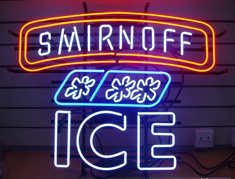 Smirnoff Ice Beer Neon Sign
