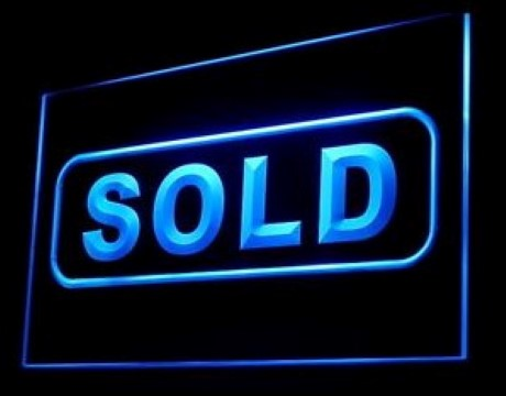 Sold Sign LED Neon Sign