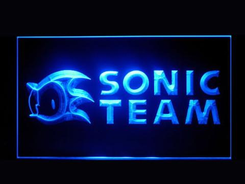 Sonic Team LED Neon Sign