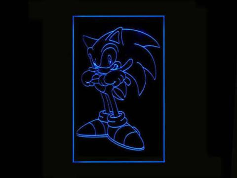 Sonic the Hedgehog LED Neon Sign