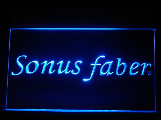 Sonus Faber Speakers LED Sign