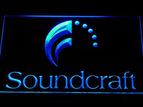 Soundcraft LED Sign