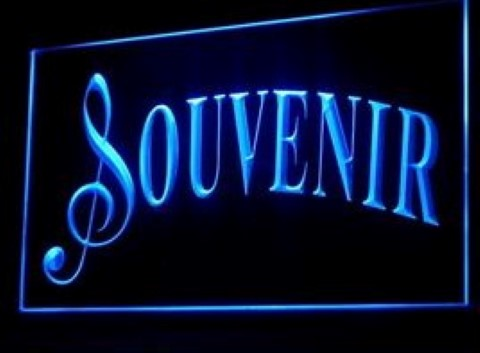 Souvenir Gift Shop LED Neon Sign
