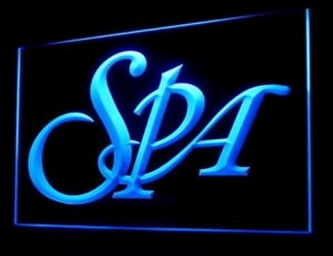 Spa Body Massage Relax Service Luxury Resort LED Neon Sign
