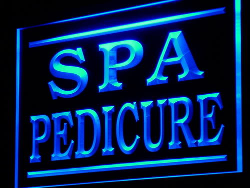 Spa Pedicure Shop Display Decor neon Light Sign