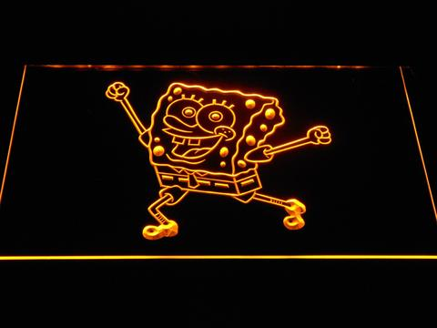 Spongebob Squarepants Ready for Adventure LED Neon Sign