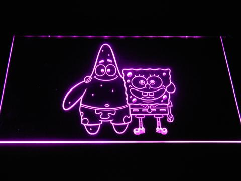 Spongebob Squarepants Spongebob and Patrick LED Neon Sign