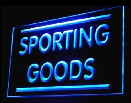 Sporting Goods LED Neon Sign
