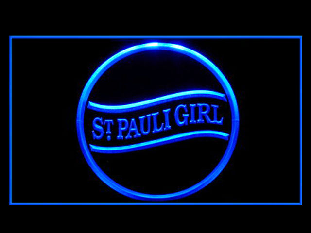 St Pauli Girl Beer Neon Light Sign