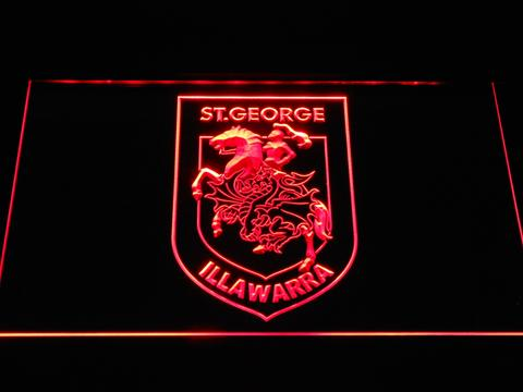 St. George Illawarra Dragons LED Neon Sign