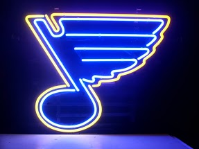 St. Louis Blues Classic Neon Light Sign 17 x 14