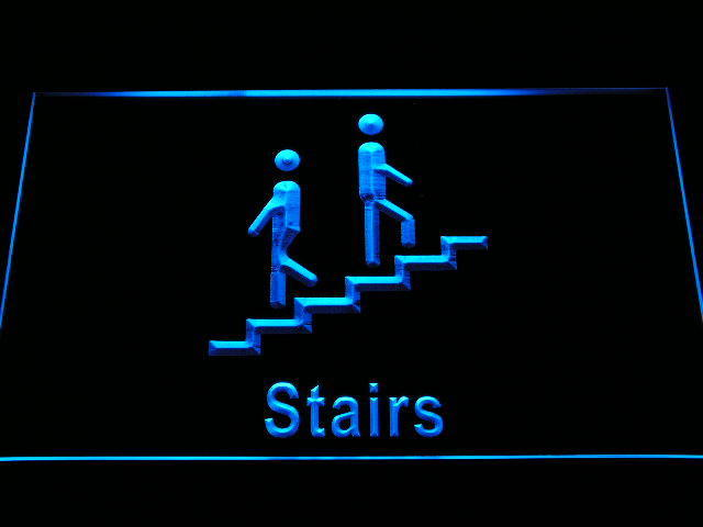 Stairs Display Neon Light Sign
