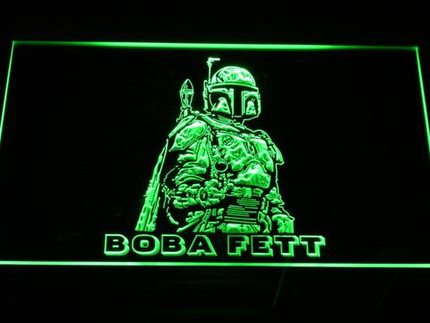 Star Wars Boba Fett LED Neon Sign