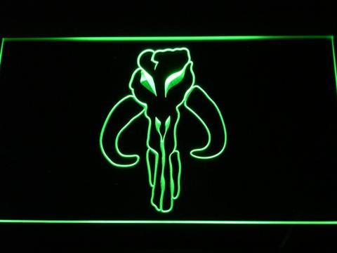 Star Wars Bounty Hunter LED Neon Sign