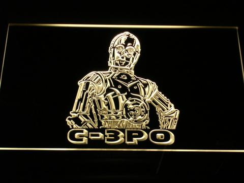 Star Wars C-3PO LED Neon Sign