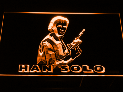 Star Wars Han Solo LED Neon Sign