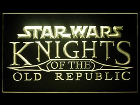 Star Wars Knights of The Old Republic LED Neon Sign