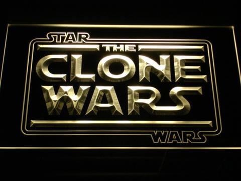 Star Wars The Clone Wars LED Neon Sign