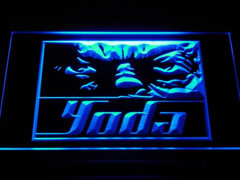 Star Wars Yoda Eyes LED Neon Sign