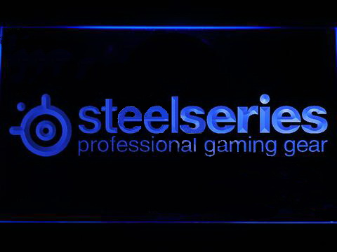Steelseries LED Neon Sign