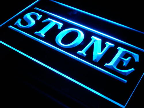 Stone Display Shop Supply Lure Neon Light Sign