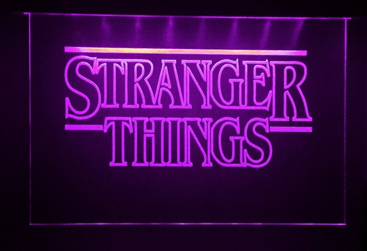 Stranger Things LED Neon Sign