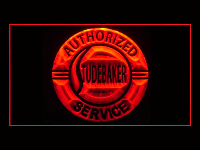 Studebaker Authorized LED Sign