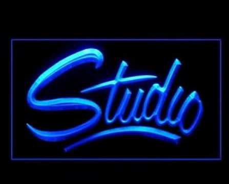 Studio Recording On The Air LED Neon Sign