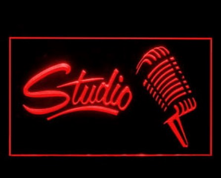 Studio Recording Open On Air LED Neon Sign