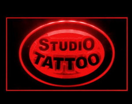 Studio Tattoo LED Neon Sign