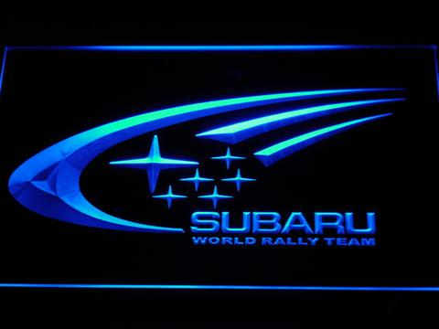 Subaru World Rally Team LED Neon Sign
