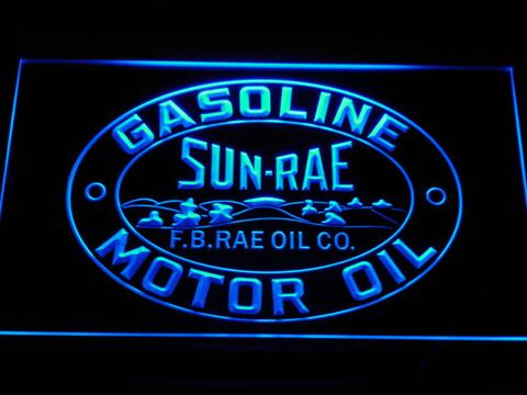 Sunrae Gasoline and Motor Oil LED Neon Sign