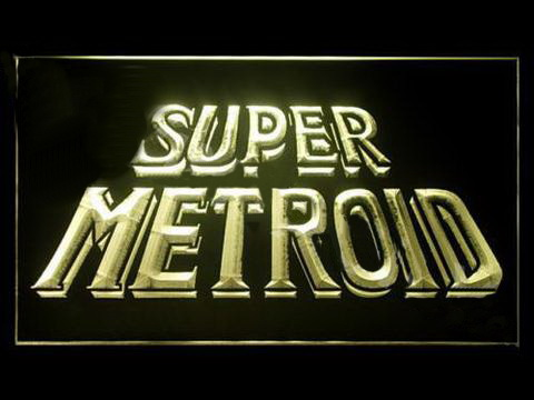 Super Metroid LED Neon Sign