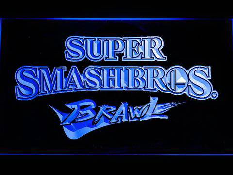 Super Smash Bros Brawl LED Neon Sign