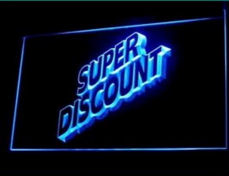 Super discount sale LED Neon Sign