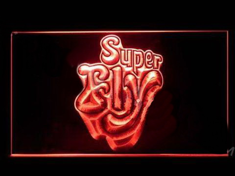 Superfly LED Neon Sign
