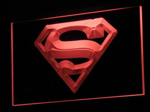 Superman Hero Cave LED Neon Sign