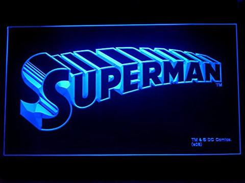 Superman Movie LED Neon Sign