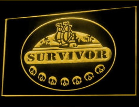 Survivor Flag LED Neon Sign